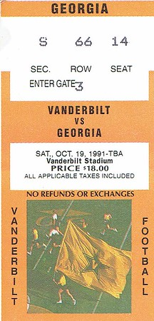 1991 - Oct - David, Dad & Marianne - Vandy game