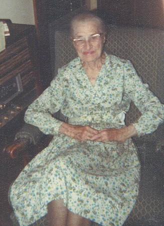 Mrs. Bessie Gunder