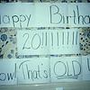 Lori's 20th Birthday