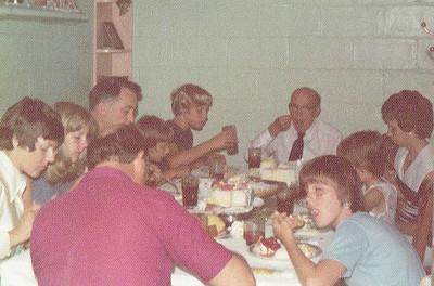 1974 or 1975 Summer in Webster City