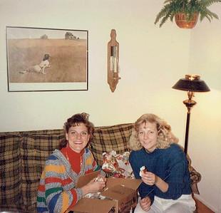 Beth visits Lori - Nov 1989