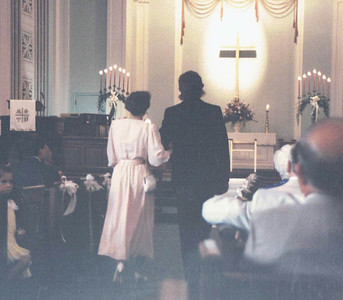 Chip & Rachel Wedding Summer 1987