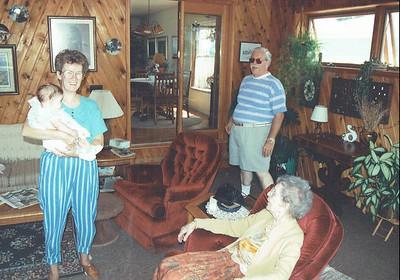 September 1992 - Visit w Chuck & Vera in MT