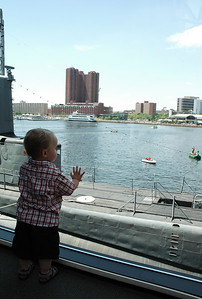 Jack surveys Baltimore's Inner Harbor