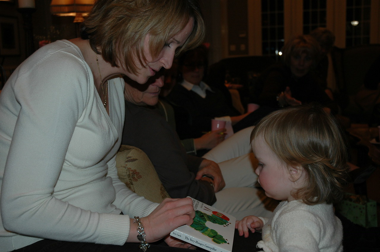 """Mama look!  They have """"The Very Hungry Caterpillar"""" too!"""