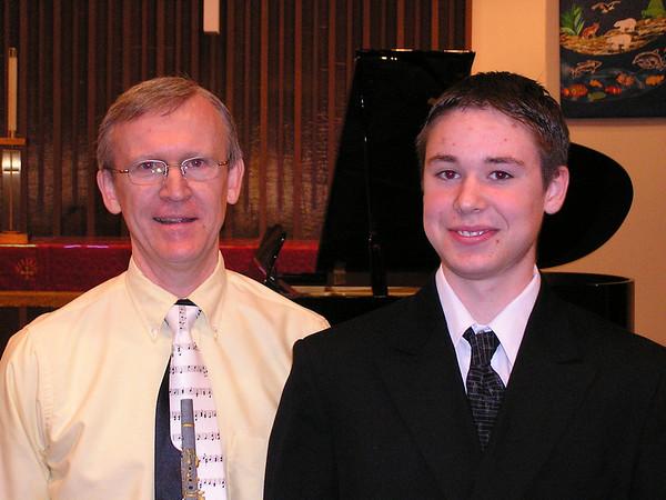 Kevin's Piano Recital, May 21, 2004