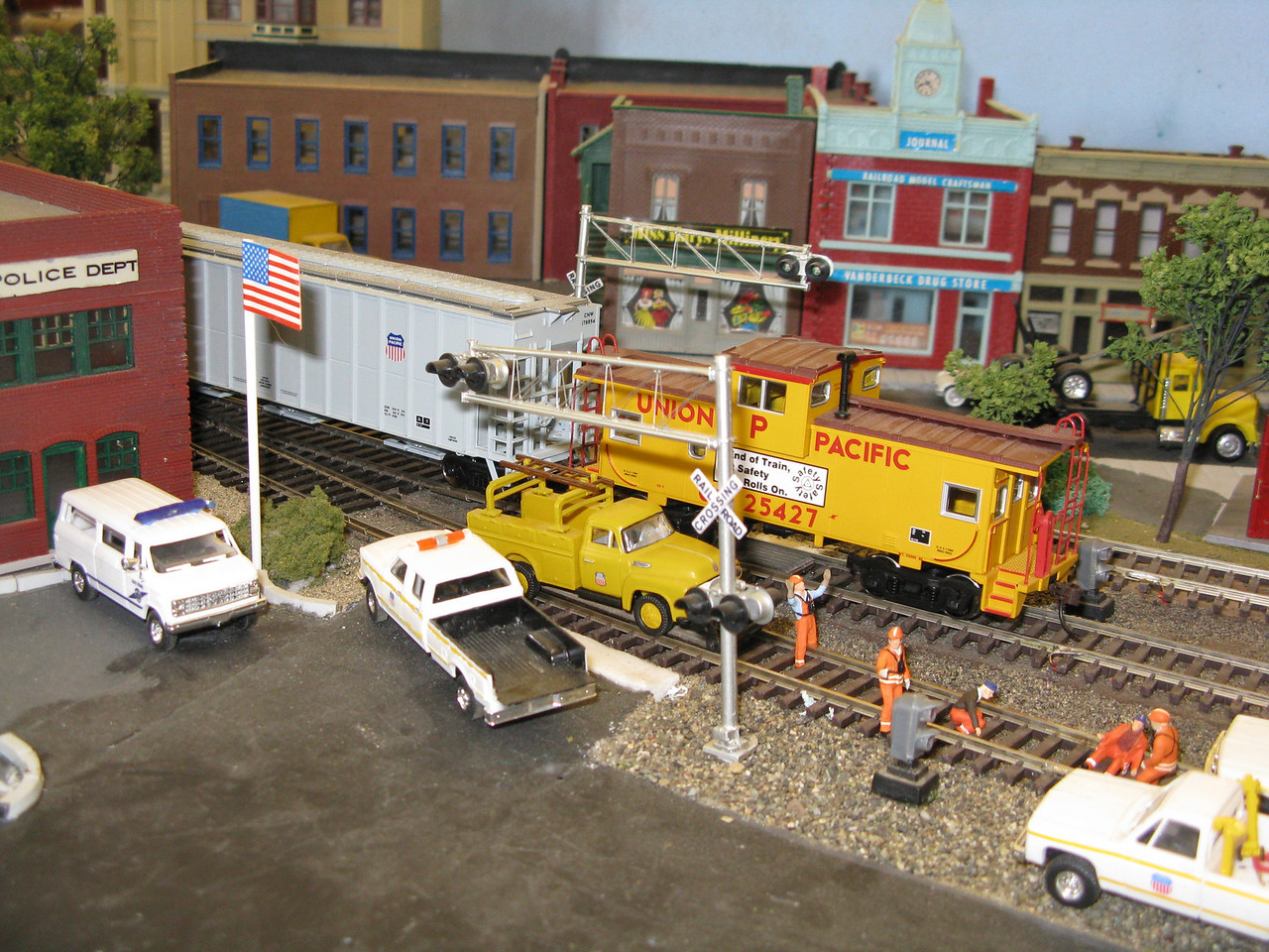 A model train festival was the big attraction at the history museum.