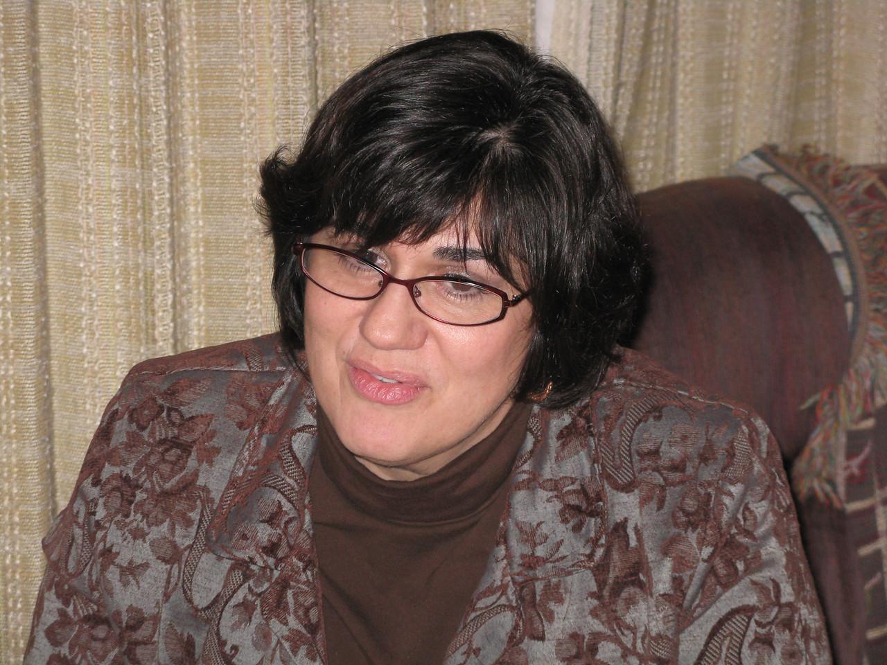 Sherry Krainick, Martin's cousin Jim's ex-wife.
