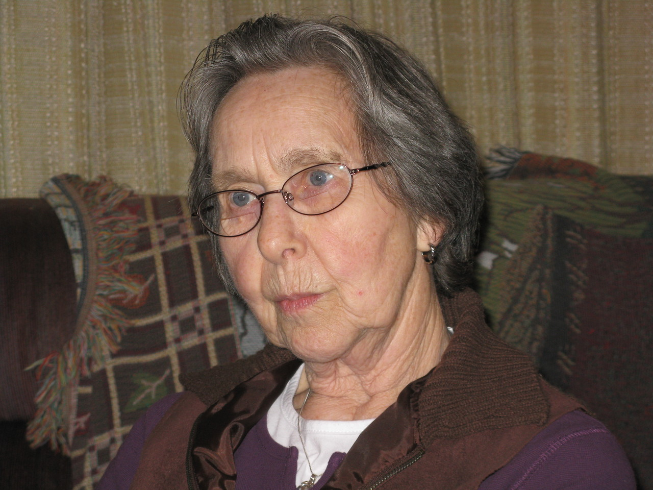 Aunt Mary Simmons.