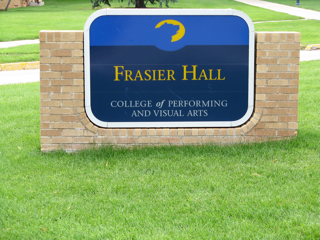 Frasier Hall is the music building.