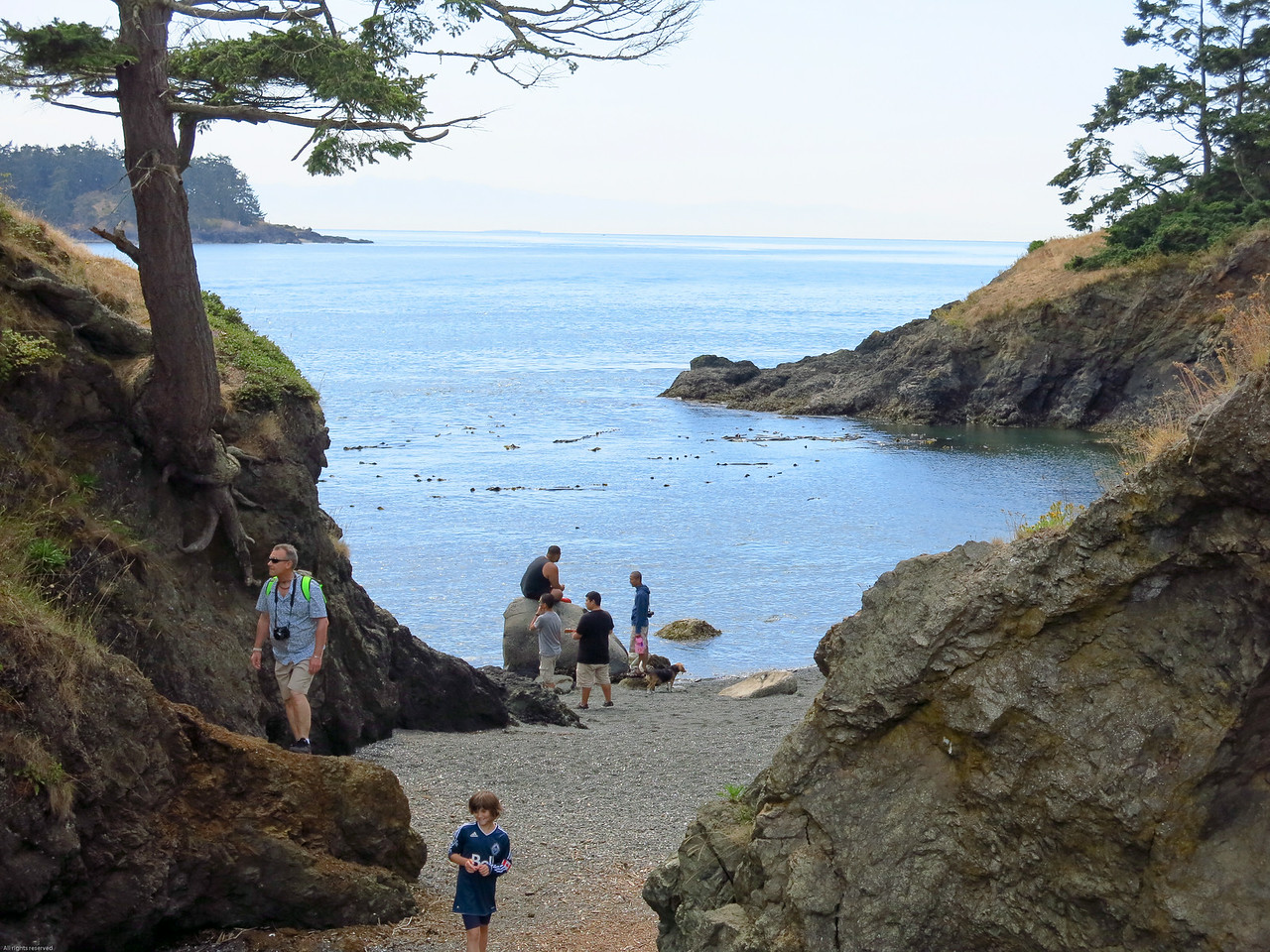 West entrance to Deception Pass