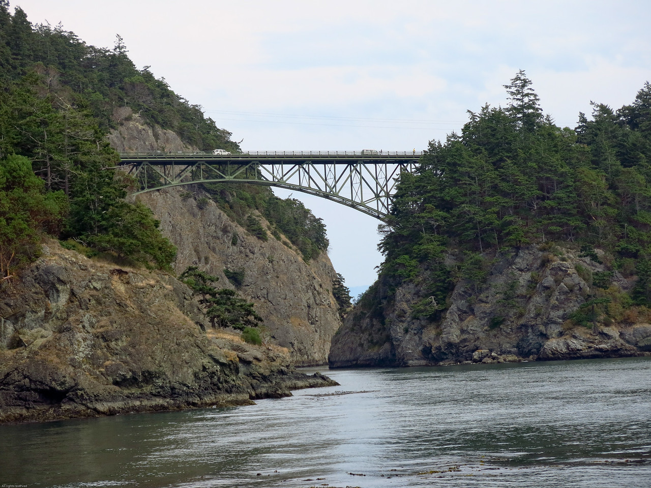 Bridge from Fidalgo Island to Pass Island
