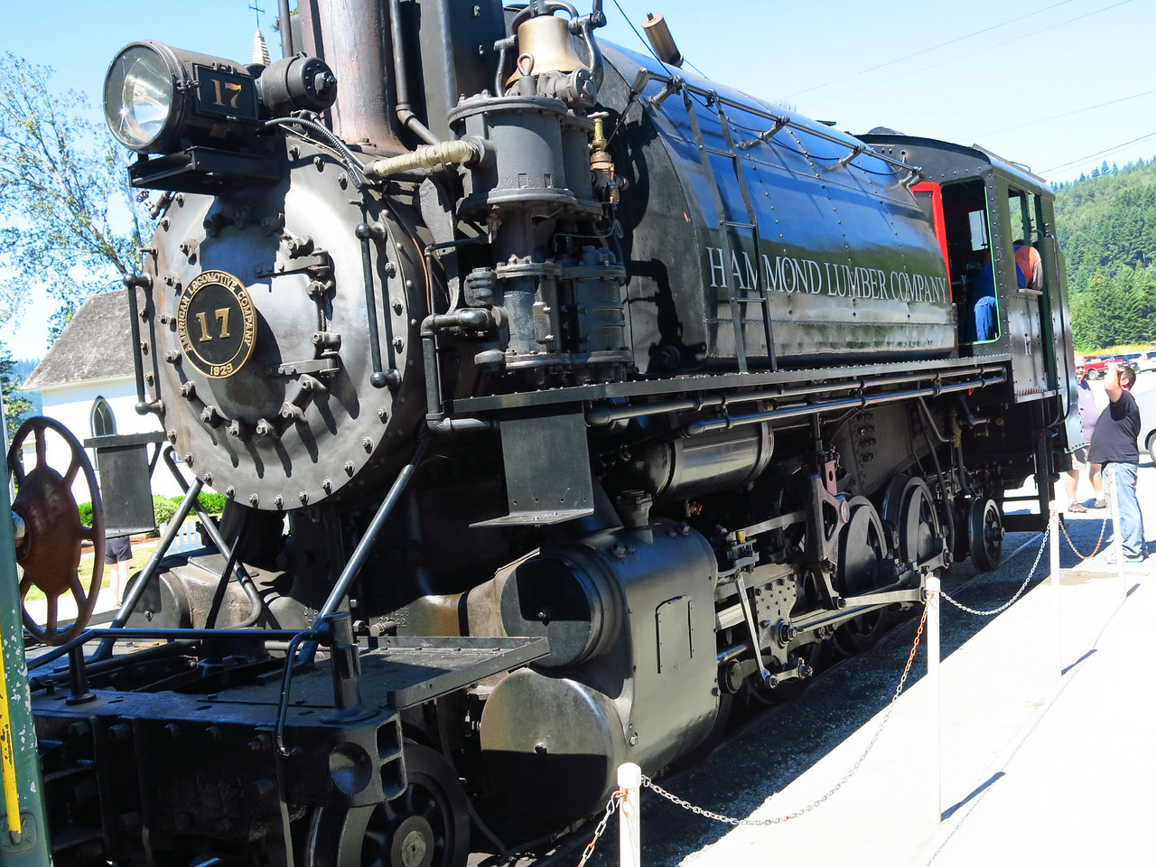 #17 steam locomotive