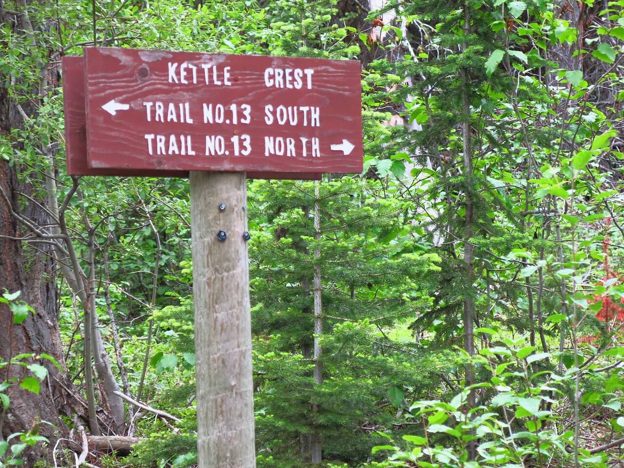 Kettle Crest Trail North