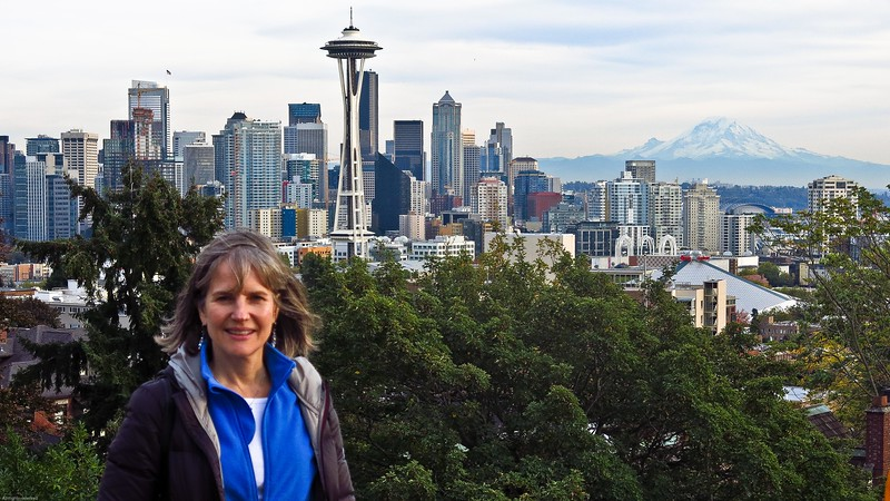 Pike Place Market, Space Needle and Kerry Park with Jeanette, Oct 15, 2015