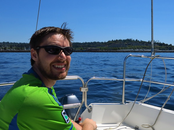 Sailing with Kevin, July 3, 2015