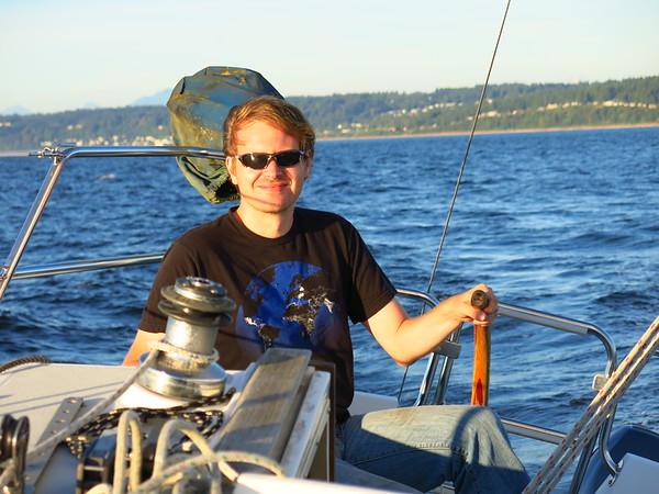 Sailing with Nathan, July 28, 2015