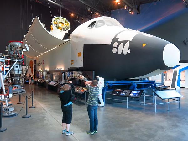 Space Shuttle Tour, Aug 7, 2015