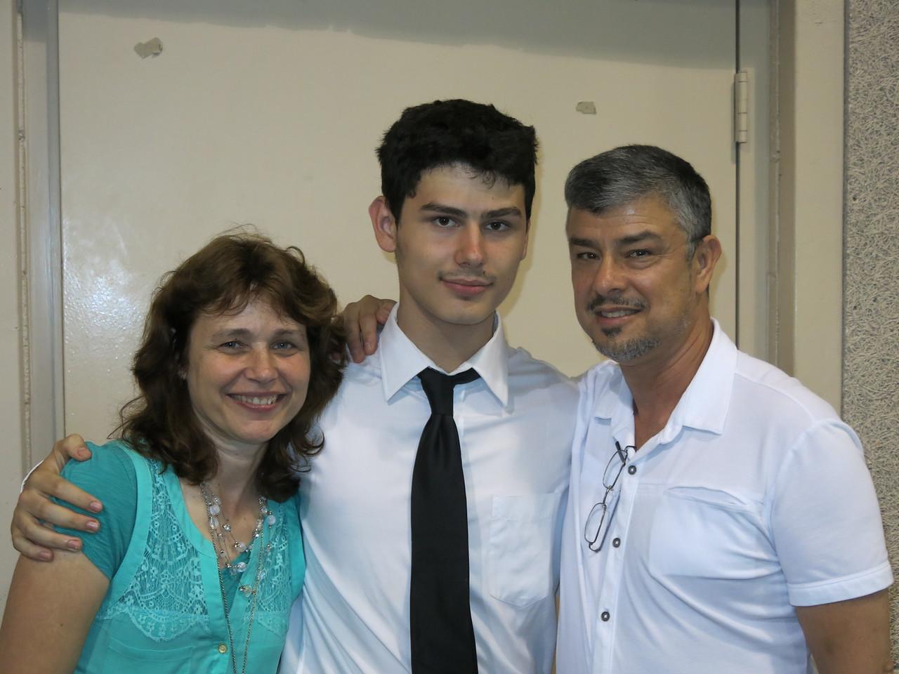 Alan, Elaine and Milton