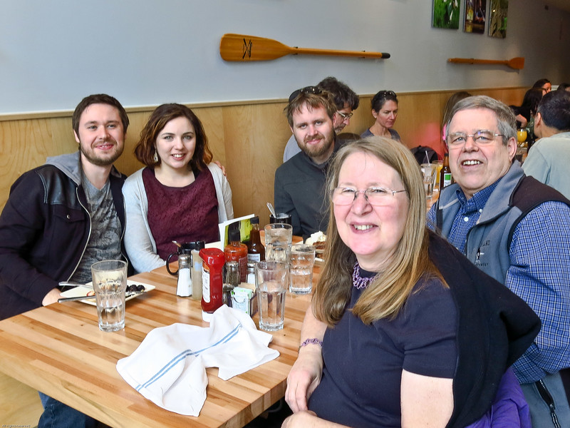 Kevin's Birthday Brunch, April 16, 2016