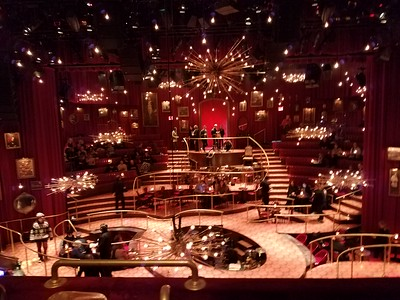 Stage set for Natasha, Pierre, and the Great Comet of 1812