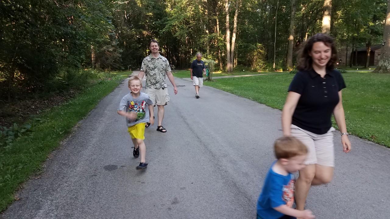 A short after-dinner stroll