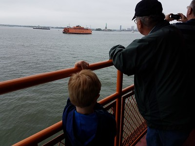 watching the other Staten Island Ferry