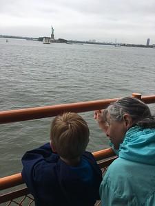sight-seers Milo & Granny