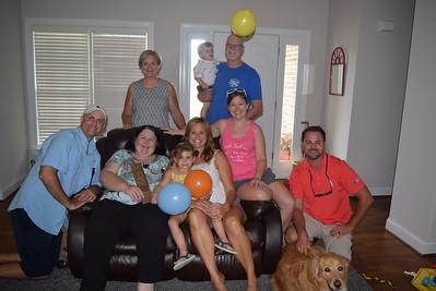 Ward/White family visit