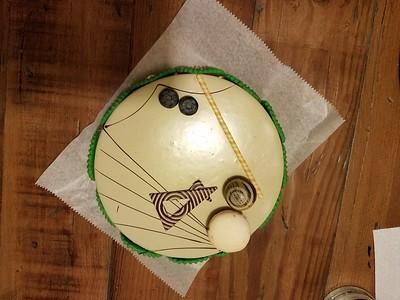 Alan's (70th) Birthday mousse cake