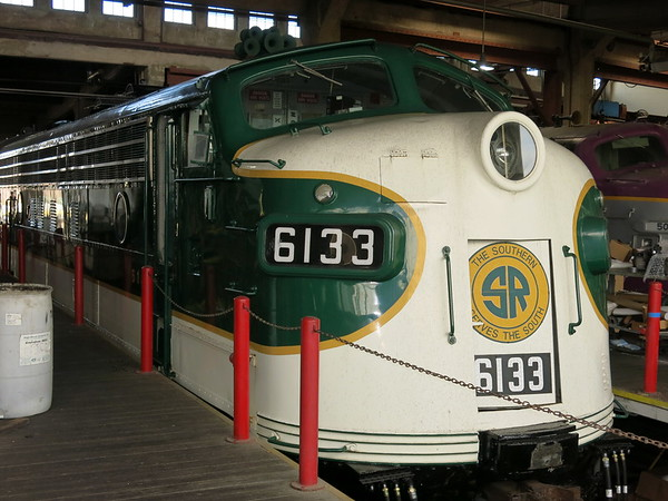 Locomotives in Roundhouse, NCTM, March 25, 2018