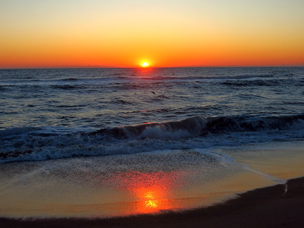 Sunrise on the Outer Banks, NC, March 24, 2018