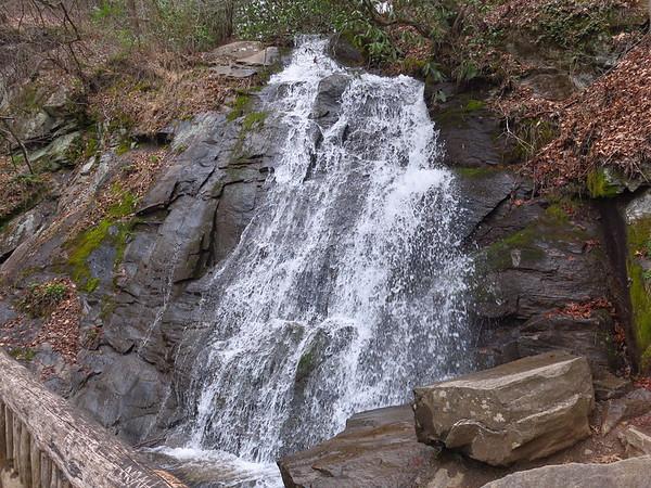 Three Falls Trail, Deep Creek, Great Smoky Mountains NP, Mar 26, 2018