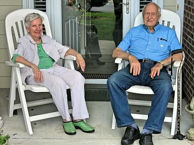Uncle Noel and Aunt Henrietta, Aug 27, 2018