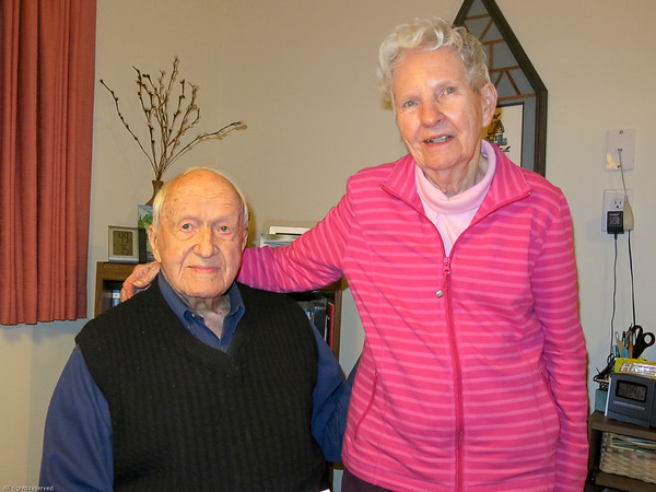 Uncle Noel and Aunt Henrietta, March 22, 2018