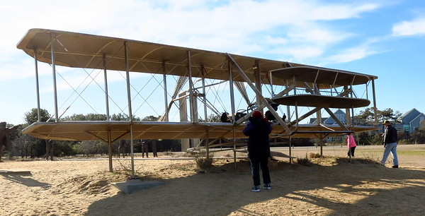Wright Brothers Memorial, March 24, 2018
