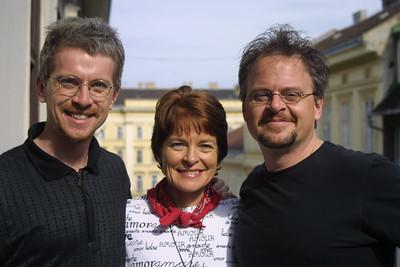 Eric, Carla, and Mark