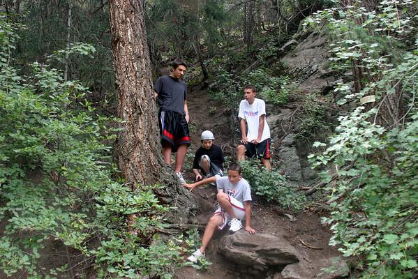 Boulder Falls August 6, 2009