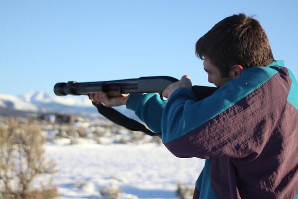 Practice shooting November 28, 2013