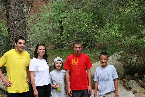 Seven Falls July 23, 2009