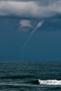 Water Spout just off shore