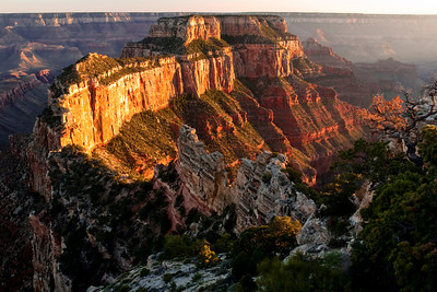 Waiting for the right light Cape Royal North Rim Grand Canyon