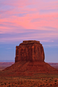 Twighlight  Merrick Butte Monument Valley