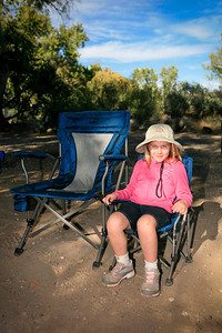 Relaxing  Clear Creek Campground, Camp Verde