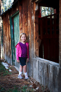 Exploring the Old Cabin at Jacob Lake