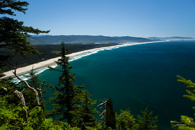 View South From Cape Lookout Trail