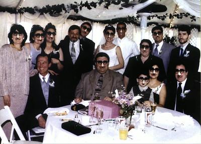 Groucho Glasses Group Shot