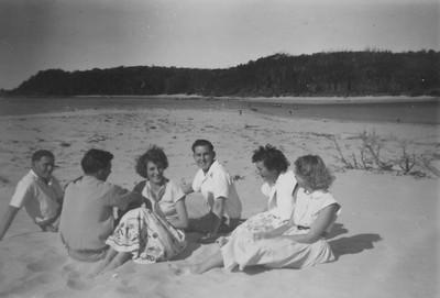 Bill, John, Margaret, Keiran, Helen Firth, Barbara