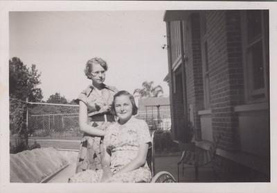 Barbara and Margaret Greig