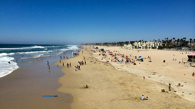 Huntington Beach, Southern California.